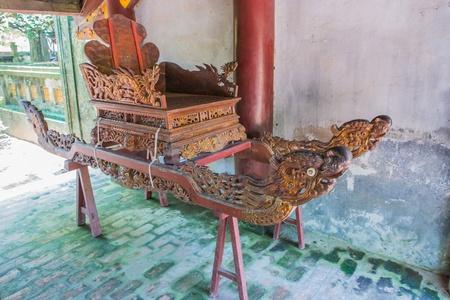 palanquin: king sedan of king Vietnam