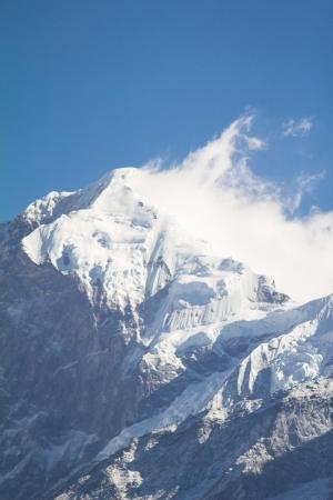 pandim peak of Kanchenjunga nation park sikkim india photo