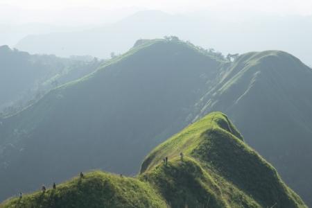 mountain in Kanchanaburi, khao chang peuk,thailand photo