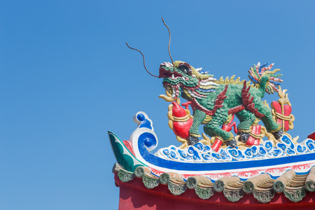 Chinese temple  architecture photo