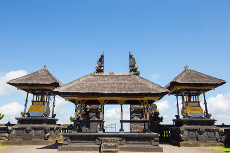 gr: The Door of Besakih Temple  in Bali Indonesia Stock Photo