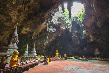 Buddhism cave in Phetchaburi, Thailand