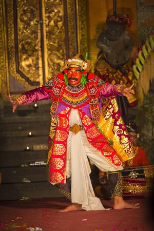 traditional balinese performance  in Ubud, Bali, Indonesia.