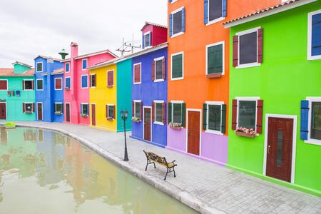 Colorful buildings Archivio Fotografico