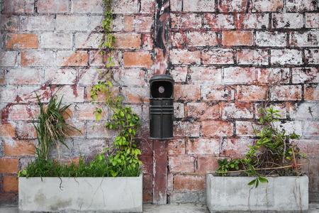 payphone: Retro brick wall