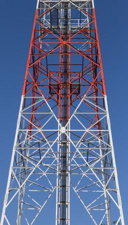 mast cells: Close up cellular pillar with blue sky