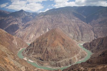 yangtze: The Omega Bend of Yangtze River Yunnan Province, China