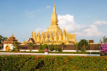 Wat Phra That Luang, Vientiane, Laos