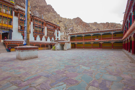 gompa: Hemis monastery in Leh Ladakh , India Stock Photo