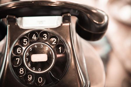 Classic telephone vintage color
