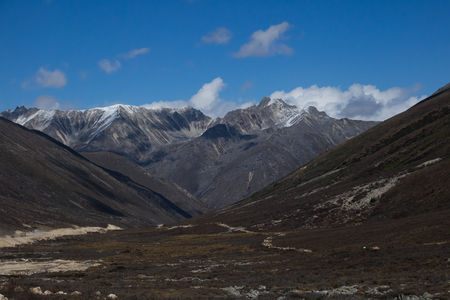Hilamaya range with snow on top of mountain in China