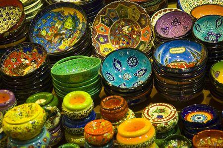 """Le """"grand bazar d'Istanbul le vieux marché coloré  Banque d'images - 2836232"""