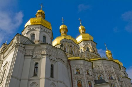 Pecherska Lavra , The unesco world Heritage site  in Kiev the capital of Ukraine photo