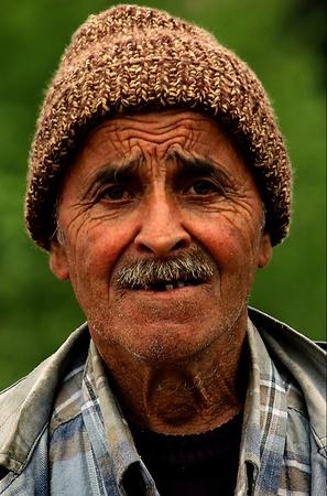 AMASRA , TURKEY - APRIL 15 2006 : portrait of old turkish man Stock Photo - 8728431
