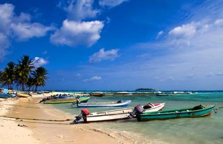 San Andres, Colombie - Décembre 12 2010: plage de l'île des Caraïbes de San Andres, Colombie Banque d'images - 10274142