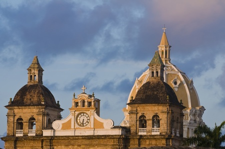 The architecture of  Cartagena , Colombia