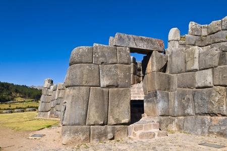 incan: Ancient Sacsayhuaman, le rovine inca di fuori del Cusco Peru
