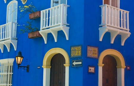 The architecture of  'Cartagena de indias' Colombia  photo