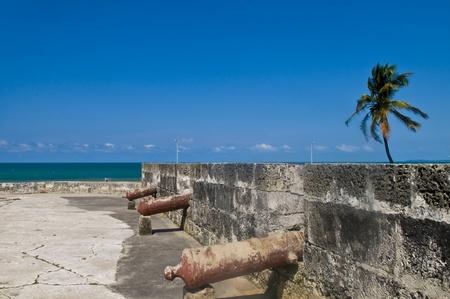 San Felipe de Barajas casle in  Cartagena de indias Colombia