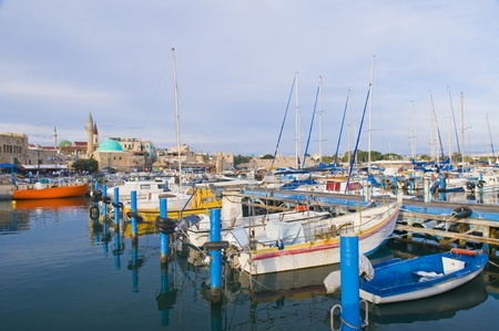 akko: The historic port of Acre in north Israel