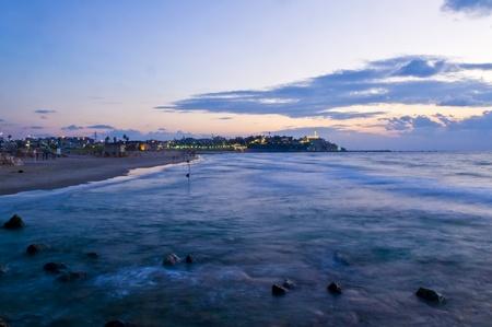 yaffo: Old Jaffa marino vista, Israel