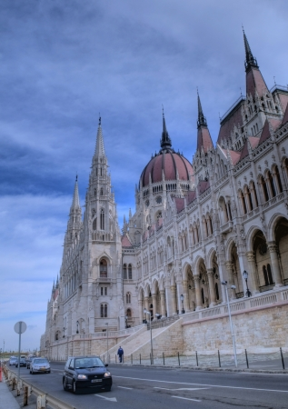 basillica: The Hungarian parlament building in Budapest