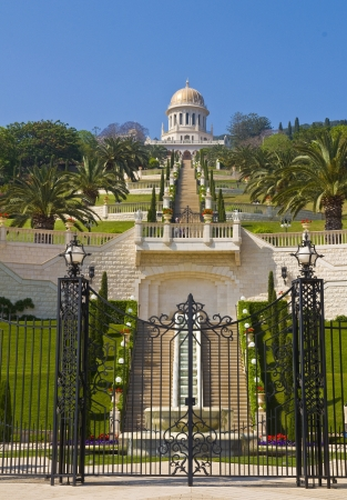 The Bahai gardens in Haifa north Israel Stock Photo - 14138105