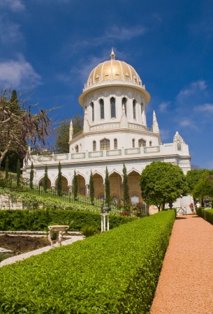 bahaullah: The Bahai gardens in Haifa north Israel