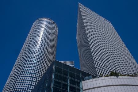 azrieli center: The Azrieli towers in Tel aviv Israel Editorial