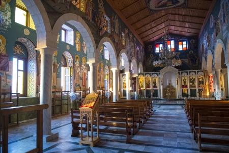 holyland: Greek Orthodox Church of St. Michael in Jaffa , Israel Editorial