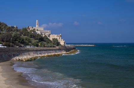 yaffo: Old Jaffa paisaje marino vista, Israel