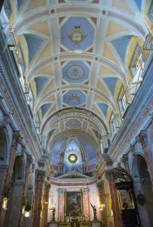 The interior of St. Peters Church in Jaffa , Israel