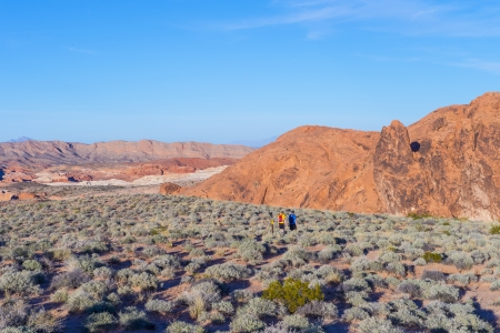 The Valley of Fire State Park , Nevada Stock Photo - 17446233