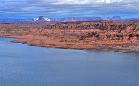 Lake Powell near Page, Arizona - USA photo