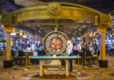 caesars palace: LAS VEGAS - FEB 03 :The casino of Caesar Palace on February 03, 2013 in Las Vegas. Caesars Palace is a luxury hotel and casino located on the Las Vegas Strip. Caesars has 3,348 rooms in five towers