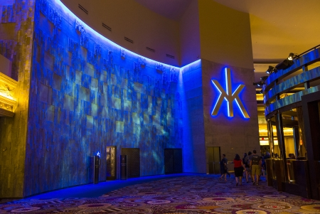 LAS VEGAS - AUG 06 : The Hakkasan Night club in MGM hotel in Las Vegas on August 06 2013. The five-level, 80,000-square-foot venue opend in 2013 Stock Photo - 22540732