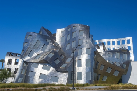 LAS VEGAS - NOV 24 : The Cleveland Clinic Lou Ruvo Center for Brain Health in downtown Las Vegas Nevada on November 24 2013 , the modern building designed by the architect Frank Gehry