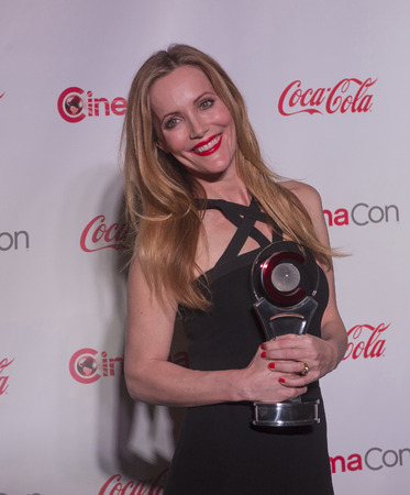 mann: LAS VEGAS - MARCH 27:  Comedy Star of the Year award winner, actress Leslie Mann arrives at The CinemaCon Big Screen Achievement Awards at The Caesars Palace on March 27, 2014 in Las Vegas