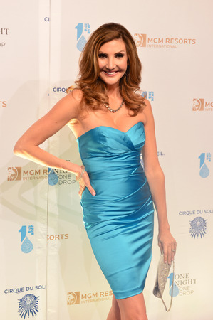 mcdonald: LAS VEGAS - MARCH 21:  Actress Heather McDonald arrives at Cirque du Soleils annual One Night for One Drop at the Mandalay Bay Resort and Casino on March 21, 2014 in Las Vegas, Nevada