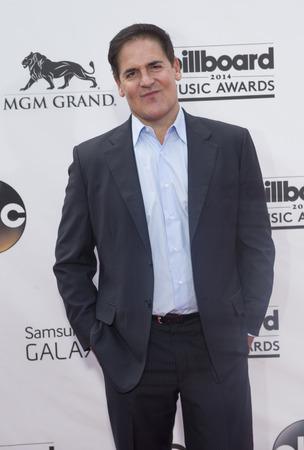 LAS VEGAS - 5 月 18 日: 実業家マーク キューバに出席 MGM グランド ガーデン アリーナで、2014 ビルボード音楽賞 2014 年 5 月 18 日にラスベガスで。 報道画像