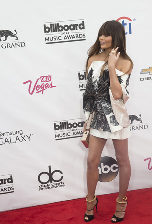 christine: LAS VEGAS - MAY 18 : Model Christine Teigen attend the 2014 Billboard Music Awards at the MGM Grand Garden Arena on May 18 , 2014 in Las Vegas.