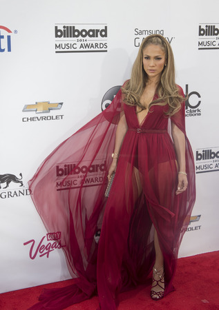 jennifer: LAS VEGAS - MAY 18 : Recording artist Jennifer Lopez attend the 2014 Billboard Music Awards at the MGM Grand Garden Arena on May 18 , 2014 in Las Vegas.