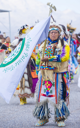 pow wow: LAS VEGAS - MAY 24 : Native American men takes part at the 25th Annual Paiute Tribe Pow Wow on May 24 , 2014 in Las Vegas Nevada. Pow wow is native American cultural gathernig event.