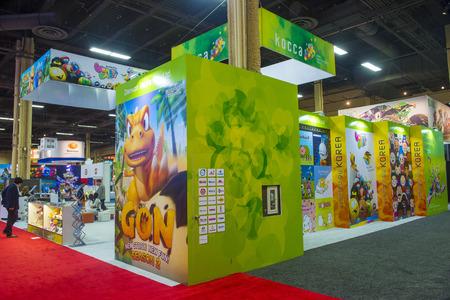 annual event: LAS VEGAS - 17 de junio: El stand Kocca en la Licensing Expo en Las Vegas, Nevada el 17 de junio de 2014 Licensing Expo es el evento anual m�s grande de la industria de las licencias