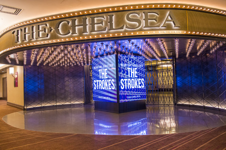 LAS VEGAS - JULY 21 : The Chelsea event venue in Cosmopolitan hotel in Las Vegas on July 21 2014 , The 40,000 square-foot event space opend on December 2013 Sajtókép