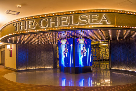 LAS VEGAS - JULY 21 : The Chelsea event venue in Cosmopolitan hotel in Las Vegas on July 21 2014 , The 40,000 square-foot event space opend on December 2013