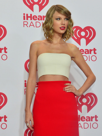 LAS VEGAS - SEP 19: Recording artist Taylor Swift attends the 2014 iHeartRadio Music Festival at the MGM Grand Garden Arena on September 19, 2014 in Las Vegas.