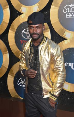 rnb: LAS VEGAS - NOV 07 : Recording artist Shaliek  attends the 2014 Soul Train Music Awards at the Orleans Arena on November 7, 2014 in Las Vegas, Nevada.