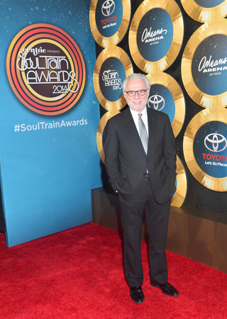rnb: LAS VEGAS - NOV 07 : TV personality Wolf Blitzer attends the 2014 Soul Train Music Awards at the Orleans Arena on November 7, 2014 in Las Vegas, Nevada. Editorial