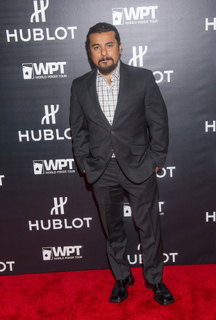 bellagio las vegas: LAS VEGAS - DEC 17 : Actor Jacob Vargas attends the announcement of Hublot and World Poker Tour partnership held at the HYDE club at Bellagio in Las Vegas on December 17 2014 Editorial